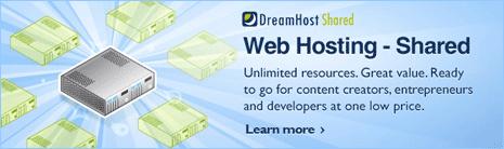 dreamhost hosting wordpress website