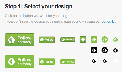 Add Feedly RSS subscription button on WordPress site