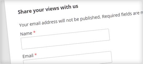 Different Comment Form Title