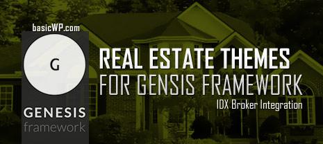 Best real estate wordpress child themes for genesis framework