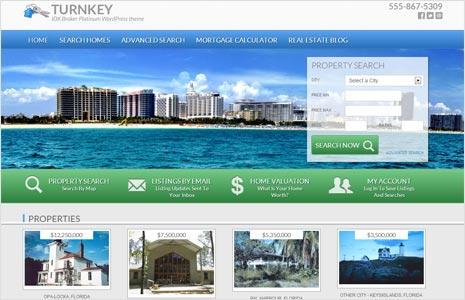 turn key real estate wordpress theme for genesis