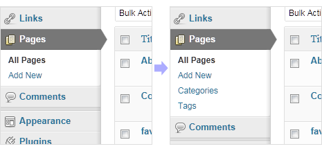 add tags categories to posts in wordpress